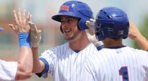 Kris Bryant is the recipient of the 2014 Joe Bauman Home Run Award (courtesy Iowa Cubs).